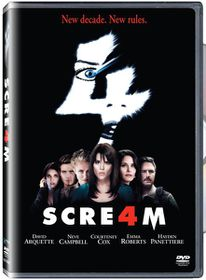 Scream 4 (2011)(DVD)