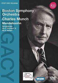 Mendelssohn/Mozart:Syms Nos 3 & 4 Mas - (Region 1 Import DVD)