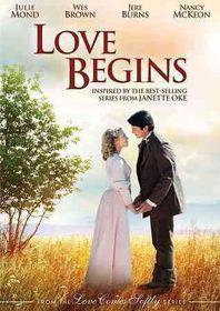 Love Begins - (Region 1 Import DVD)