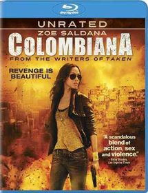 Colombiana - (Region A Import Blu-ray Disc)