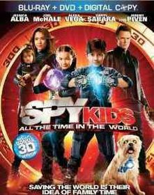 Spy Kids:All the Time in the World - (Region A Import Blu-ray Disc)