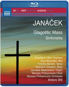 Janacek: Glagolitic Mass (blu Ray Audio) - Glagolitic Mass (Blu-Ray)