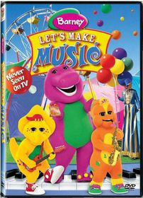 Barney: Let's Make Music (2004)(DVD)