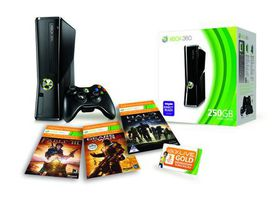 Xbox 360 Console S 250GB Extreme Value Bundle (Xbox360)