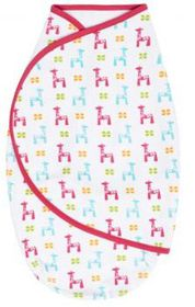 JJ Cole - Swaddle Pouch - Bright Giraffe