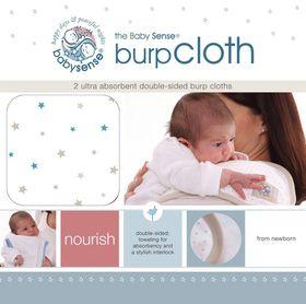Baby Sense - Burp Cloth - Blue