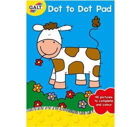 Galt Toys A5 Dot to Dot Pad