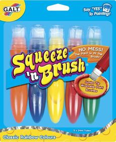 GALT - Squeeze & Brush - 5 Classic Colours