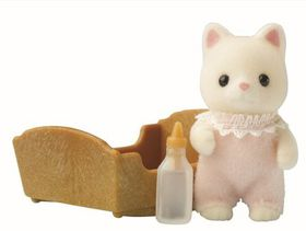 Sylvanian Family Silk Cat Baby
