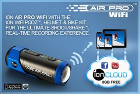 iON Air Pro WiFi HD Action Video Camera