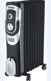 Sunbeam - Oil Filled Radiator - 7 Fin - Black