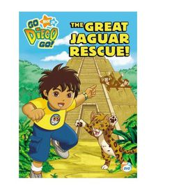 Go Diego Go: The Great Jaguar Rescue (DVD)