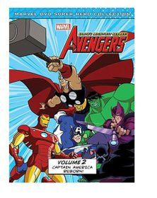 Marvel The Avengers: Earth's Mightiest Heroes Vol. 2 (DVD)