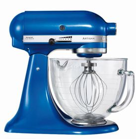 KitchenAid - Artisan Stand Mixer Electric Blue