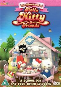 The Adventures of Hello Kitty and Friends: A School Day (Import DVD)