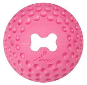 Rogz - Dog Gumz Treat Ball - Large 7.8cm - Pink
