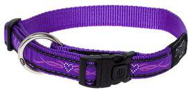 Rogz - Fancy Dress Large Beachbum Dog Collar - Purple