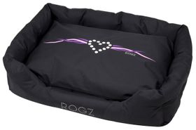 Rogz - Dog Spice Pod Bed - Large (88cm x 55cm x 26cm) - Purple