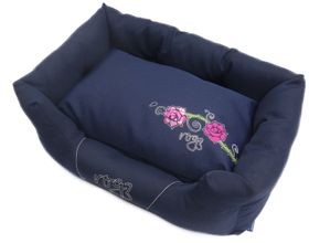 Rogz - Dog Spice Pod Bed - Large (88cm x 55cm x 26cm) - Navy