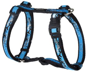 Rogz - Fancy Dress Extra-Large Armed Response Dog H-Harness - Turquoise
