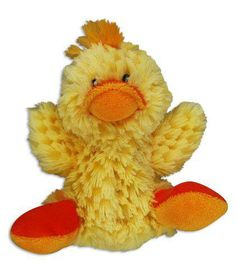 Kong -  Dog Toy Plush Duck - Small
