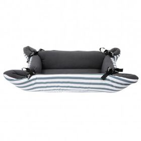 Wagworld Cupcake Pet Bed (Grey Stripe)