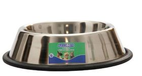 Anti Slip Stainless Steel Dog Bowl  - 900ml