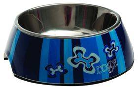 Rogz Dog Bubble Bowl 2-in-1 Medium 350ml - Navy