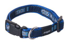 Rogz - Fancy Dress Medium Scooter Dog Collar - Navy