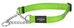 Rogz - Utility Medium Snake Dog Check Collar - Lime