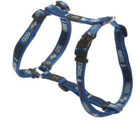 Rogz - Fancy Dress Extra-Large Armed Response Dog H-Harness - Navy