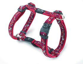 Rogz - Fancy Dress Large Beachbum Dog H-Harness - Red