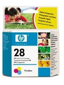 HP No. 28 Tri-Colour Inkjet Print Cartridge