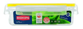 Snappy Food  - 670ml Rectangular Food Storage Container