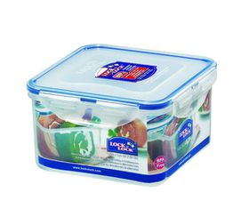 Lock and Lock - 1.2 Litre Square Food Storage Container