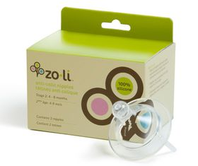 Zoli - Anti-Colic Replacement Nipple Stage 2