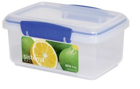 Klip It - 1L Rectangular Food Storage Container (174mm x 117mm x 82mm)