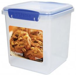 Sistema - Klip It 2.35L Cookie Storage Container - 149 mm x 154 mm 163 mm