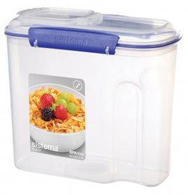 Klip It - 2.8L Cereal Storage Container (216mm x 116mm x 196mm)