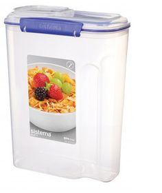 Klip It - 4.2L Cereal Storage Container (216mm x 116mm x 285mm)