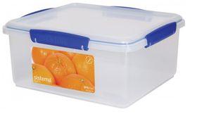 Sistema - Klip It 5L Rectangular Food Storage Container - 262 mm x 237 mm x 120 mm