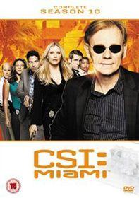 CSI Miami: The Complete Season 10 (Import DVD)