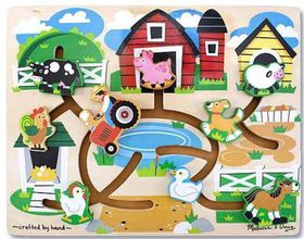 Melissa & Doug Farm Maze Puzzle