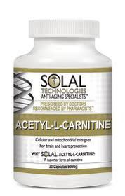 Solal Acetyl-L-Carnitine 500mg - 30s