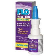 Flo Saline + Plus Nasal Spray 30 ml