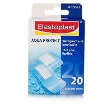 Elastoplast Water Resistant Aqua Protect Strips - 20's - 76533
