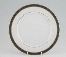 Noritake Signature Platinum Fish Plate 21cm - White & Platinum (21mm x 21mm x 1mm)