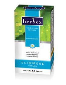 Herbex Slimmers for Men - 60 Tablets