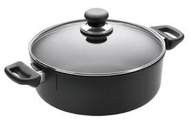 Scanpan Classic 3L Low Sauce Pot with Lid - 24cm