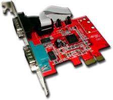 Chronos PCI Express 2 Serial + Low Profile Brk (Pe952Er2)